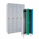 Металлические гардеробные шкафы